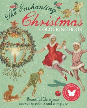 The Enchanting Christmas Colouring Book