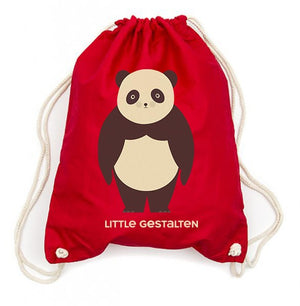 Drawstring Backpack: Red Panda