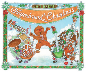 Jan Brett: Gingerbread Christmas