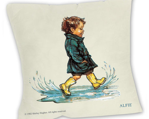 Cushion: Alfie, Puddles