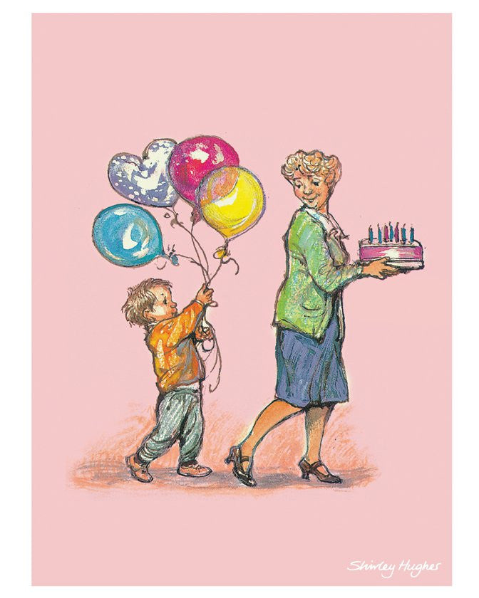 Alfie print by Shirley Hughes