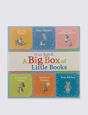 Peter Rabbit, A Big Box of Little Books by Beatrix Potter