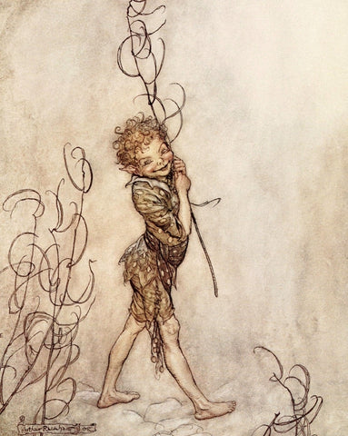 Small Print: Arthur Rackham's A Midsummer Night's Dream, Puck