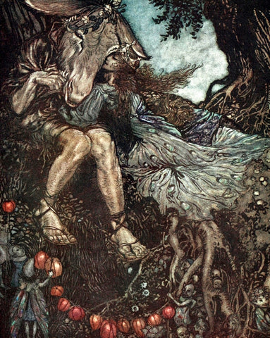 Small Print: Arthur Rackham's A Midsummer Night's Dream, Bottom