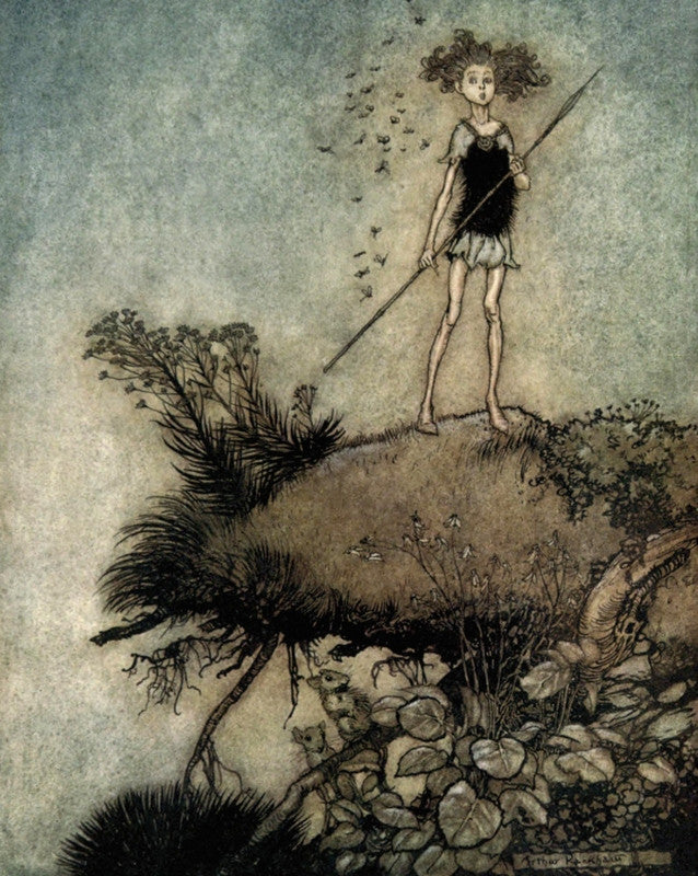 Arthur Rackham Print A Midsummer Night's Dream