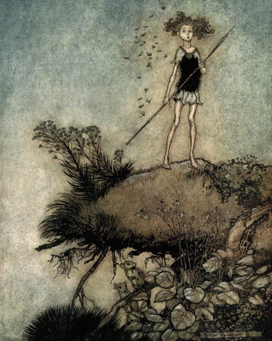 Small Print: Arthur Rackham's A Midsummer Night's Dream