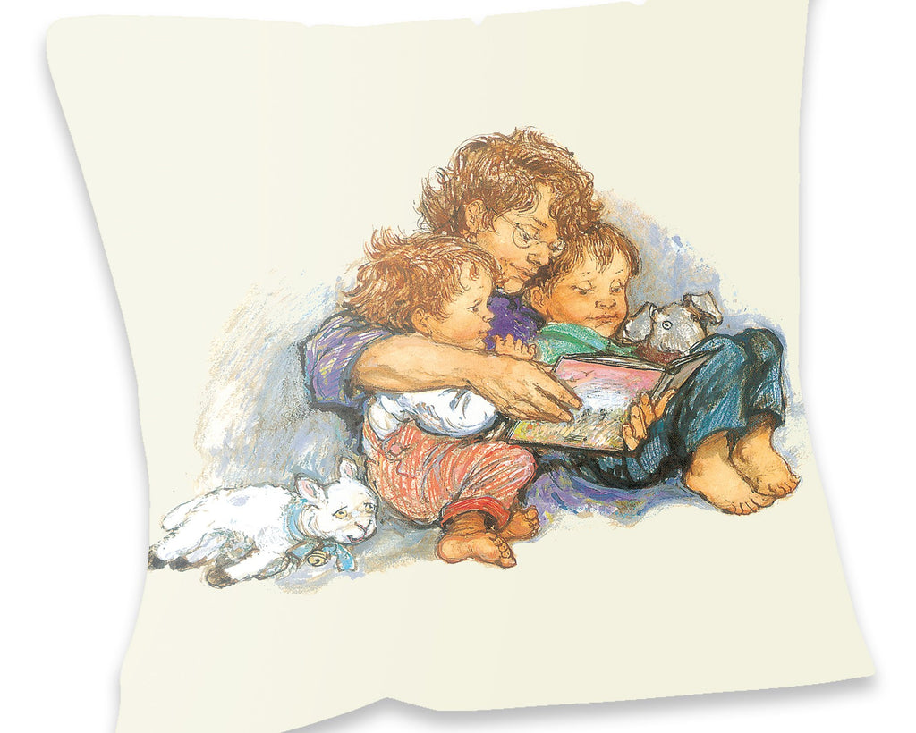 Cushion: Alfie and Annie Rose by Shirley Hughes
