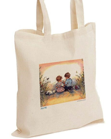 Tote Bag: Shirley Hughes, Alfie and Annie Rose Reading