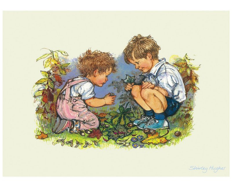 Shirley Hughes Print: Alfie and Annie Rose