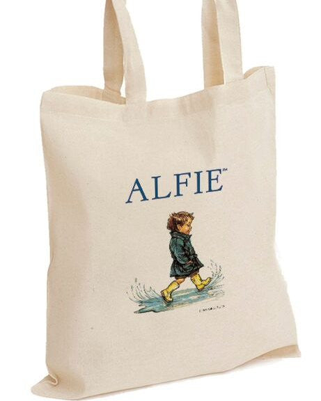 Shirley Hughes Tote Bag: Alife in the Puddles