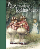 Alice through the Looking Glass by Lewis Carroll, illustrated by Robert Ingpen