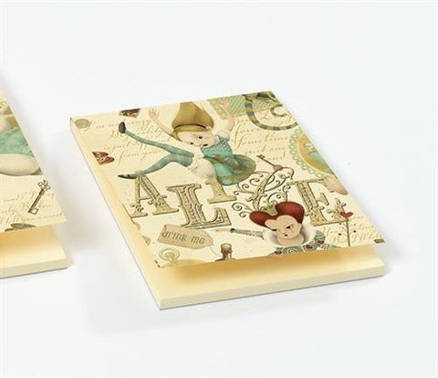 Luxury small notepad: Alice in Wonderland