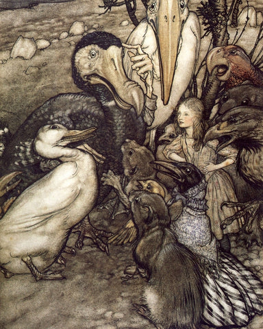 Small Print: Arthur Rackham's Alice in Wonderland