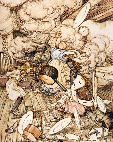 Small Print: Arthur Rackham's Alice in Wonderland, The Cook