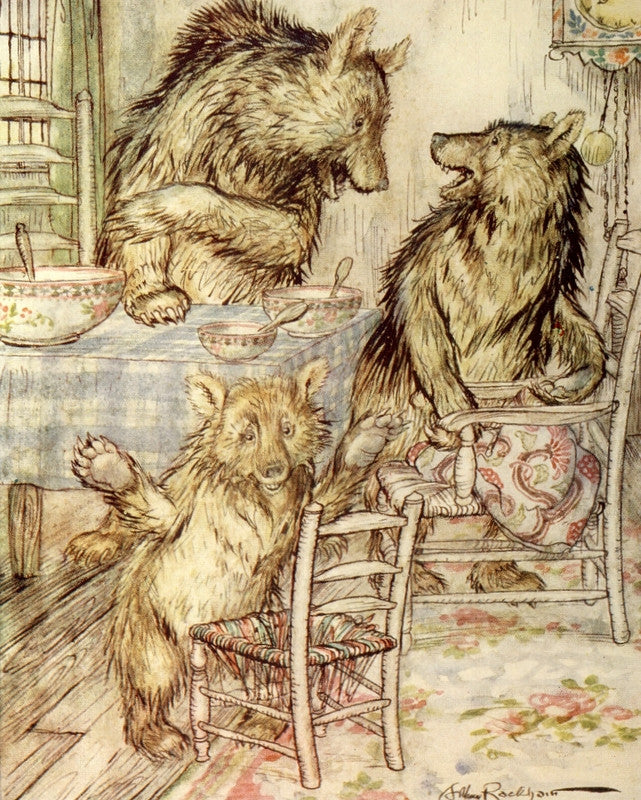 Arthur Rackham The Three Bears