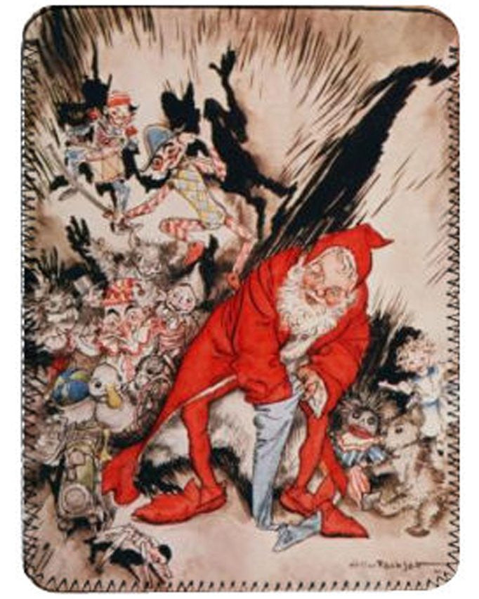 The Night Before Christmas by Arthur Rackham iPad Cover