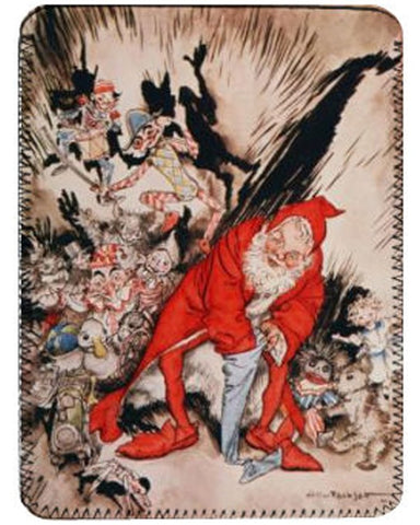 iPad Cover - Arthur Rackham's Christmas