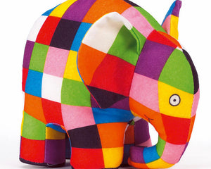 Soft Toy: Elmer