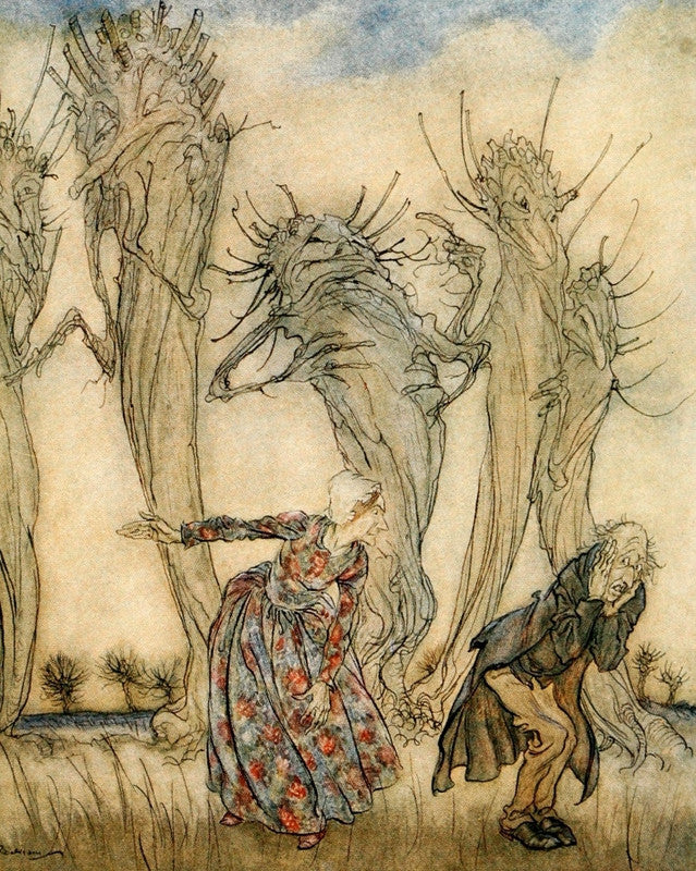 Arthur Rackham Mr and Mrs Vinegar