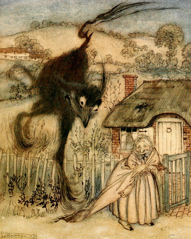 Arthur Rackham Print English Fairy Tales
