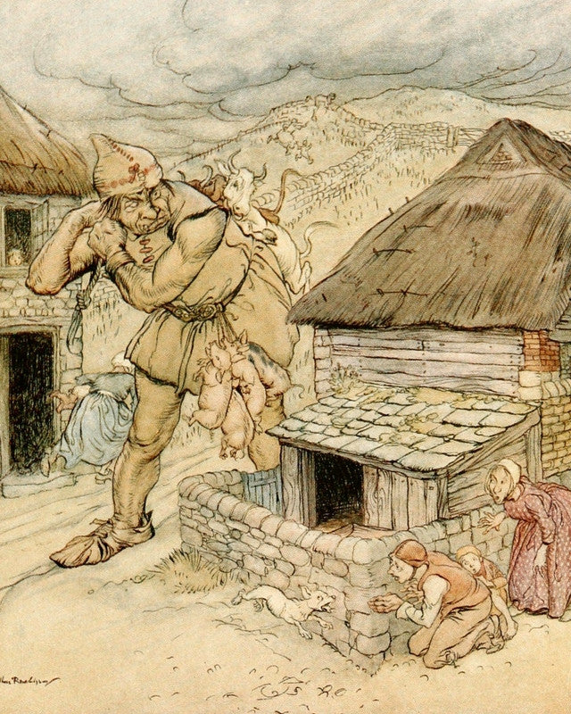 Arthur Rackham Jack the Giant Killer