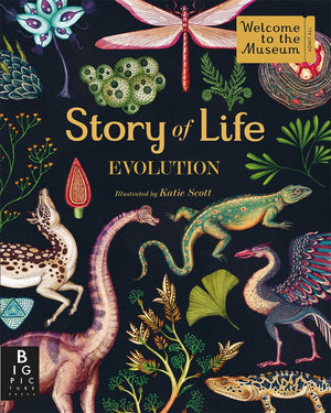 Story of Life - Evolution by Katie Scott