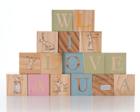 Guess How Much I Love You Wooden Picture Blocks