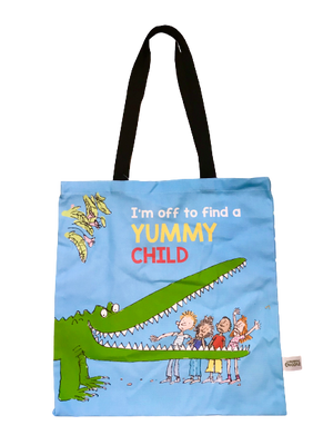 Tote Bag: Roald Dahl, The Enormous Crocodile