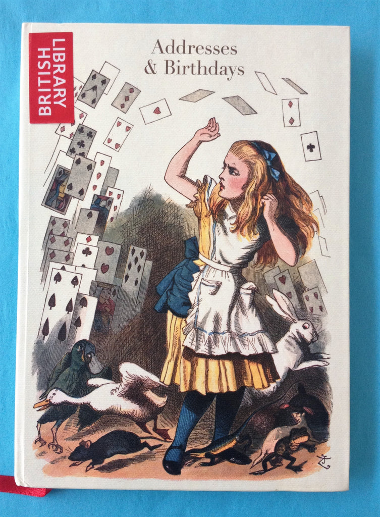 Alice in Wonderland address book