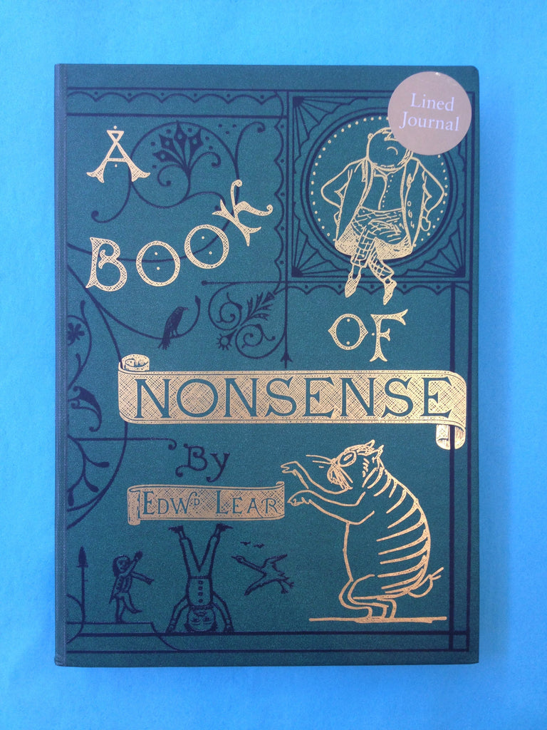 Lined journal: A Book of Nonsense