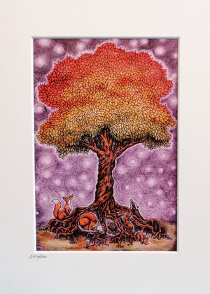 Magical Tree Print by Jenni Kilgallon