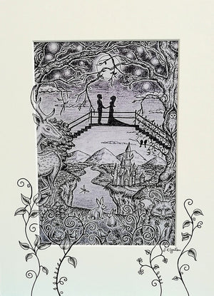 Happily Ever After Print by Jenni Kilgallon