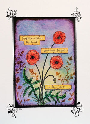 Poppies Print by Jenni Kilgallon