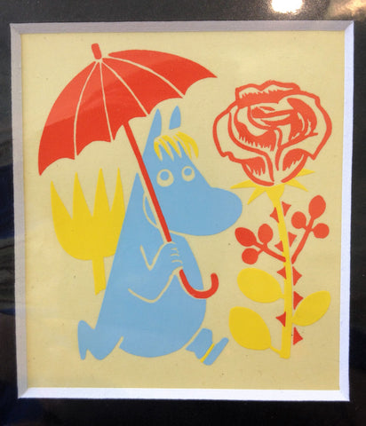 Limited Edition 1956 Moomin Print: Snorkmaiden