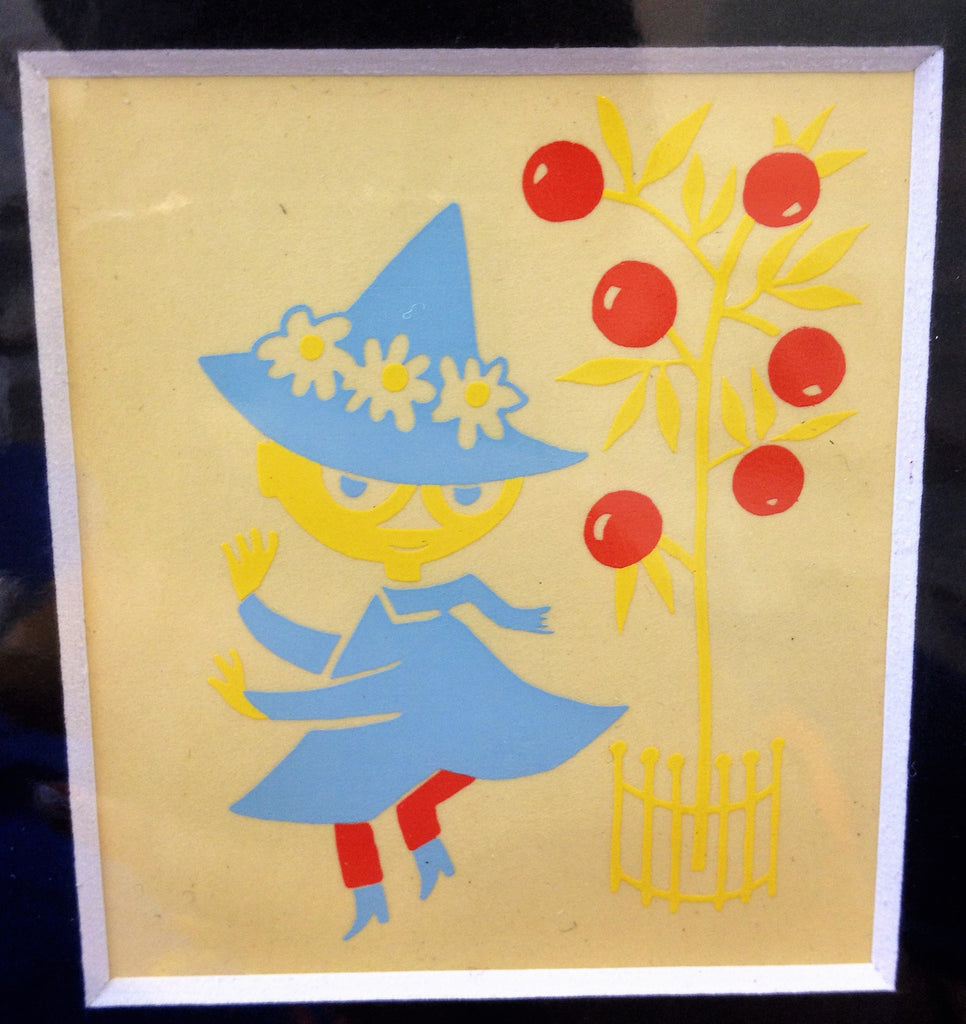 Limited Edition 1956 Moomin print