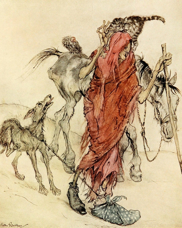 Arthur Rackham Irish Fairy Tales