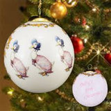 Jemima Puddleduck Bauble, Babies First Christmas