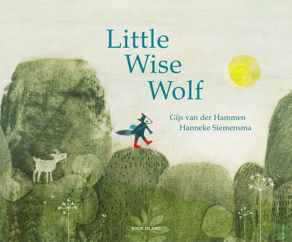 Little Wise Wolf by Gijs van der Hammen