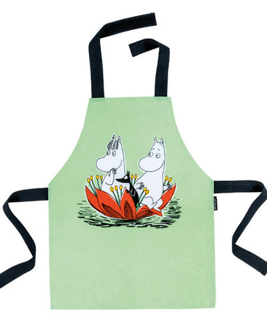 Child's Apron: Moomin (Green)