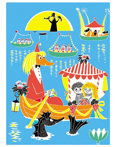 Print: Moomins - Who Will Comfort Toffle?