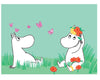 Moomin and Snorkmaiden Print