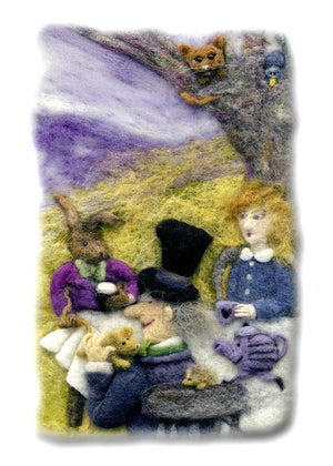 Alice in Wonderland Print by Suzie Sullivan, Derryaun Crafts