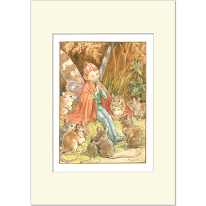 Elf Entertainer by Margaret Tarrant