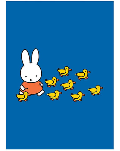 Print: Miffy with Ducks