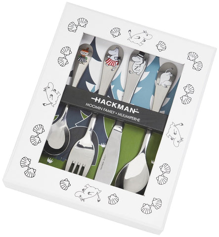 Cutlery Set/Photo Frame - Moomin Family
