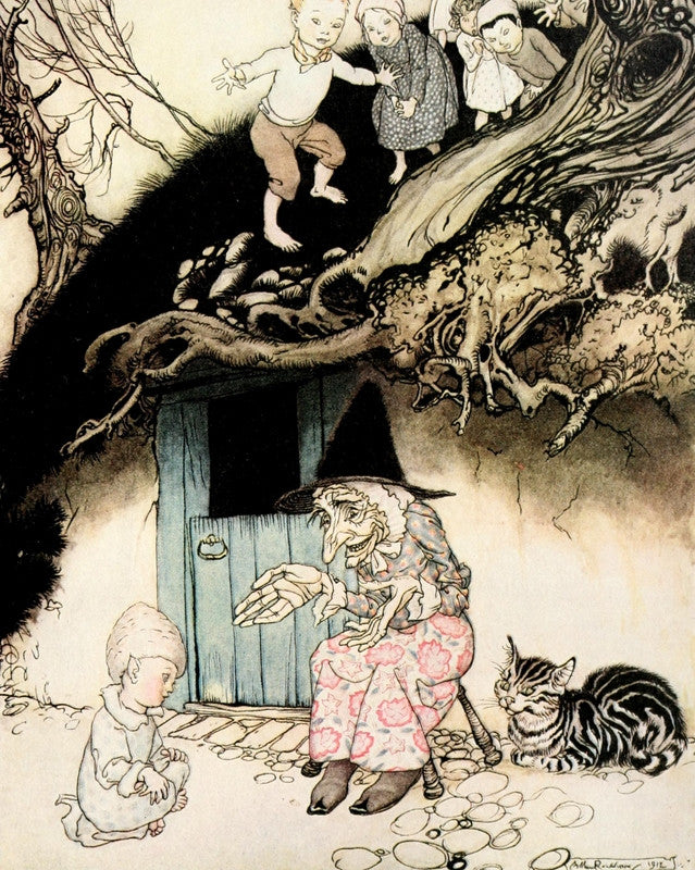 Arthur Rackham Print Nursery Rhymes Mother Goose