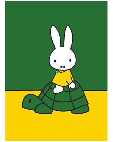 Print: Miffy and Tortoise