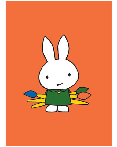 Print: Miffy the Artist
