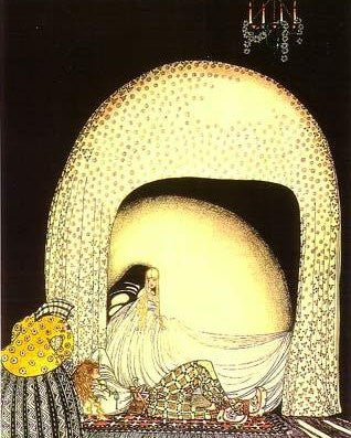 Print: Kay Nielsen - from 'The Widow's Son'