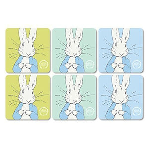 Peter Rabbit Classic Coasters Set of 6 Contemporary